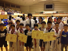 第9回全日本ジュニアテコンドー選手権大会