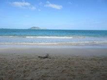 ハワイの海1