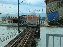 上り電車発車1