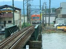 上り電車発車2
