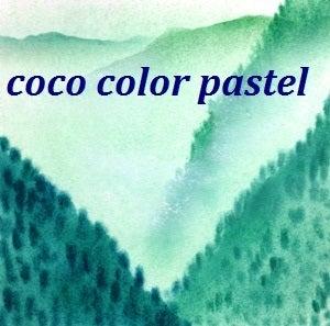 ココカラパステル和アート東山魁夷緑のスミエ