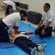 救命救急講習会に参加…