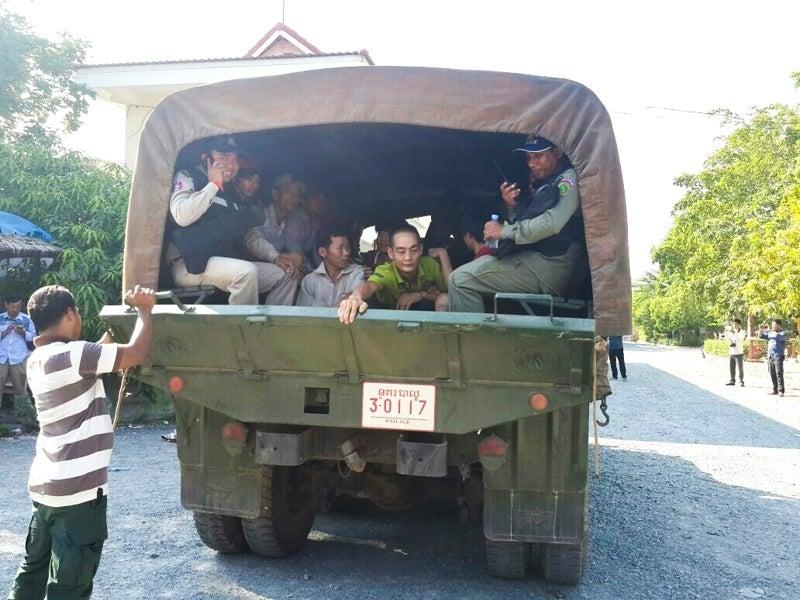 ベトナム人強制逮捕