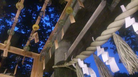 川越氷川神社入ったところ