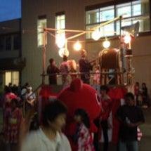 泉沢向陽台夏祭り開催…