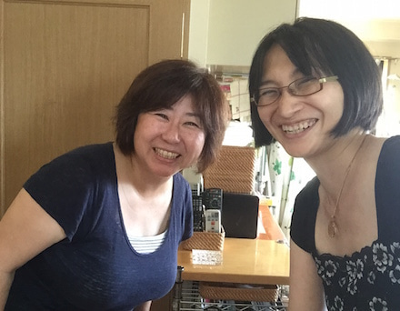 宇田川路代さんと20150811