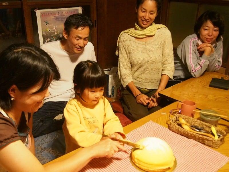 ナツキータ ケーキ入刀