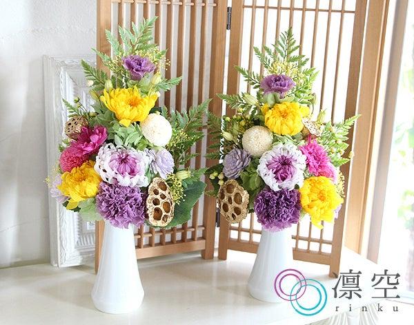 伝統的な仏壇のお花