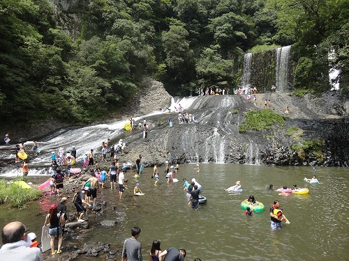 滝見台城オートキャンプ場
