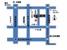 キングサーモン地図