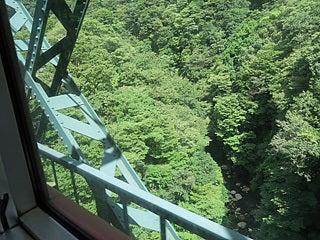 箱根登山鉄道からの眺め