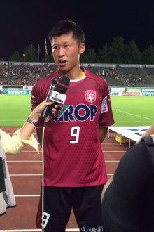 岡本選手ヒーロー