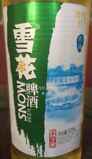 雪花ビール6