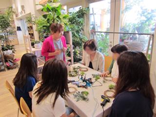 青山渋谷さいたま市プリザーブドフラワー教室