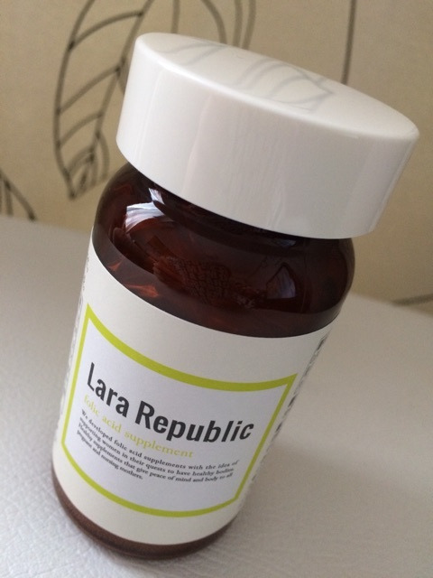 全ての女性に・・・☆Lara Republic(ララ リパブリック)  葉酸含有加工食品