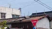 屋根 瓦 飛ぶ