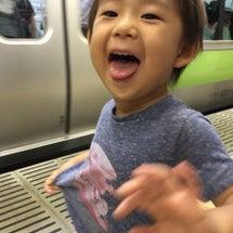 電車と新幹線に乗って