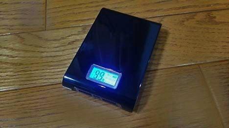 照明機能付きモバイルバッテリー4