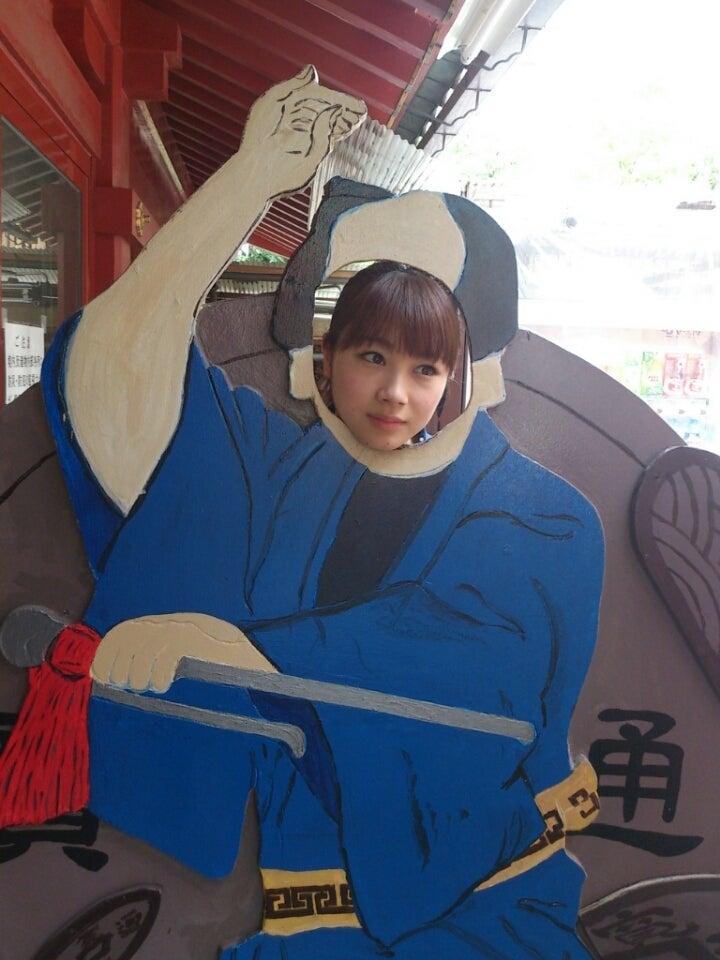 顔はめパネルの石田亜佑美