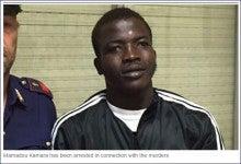 アフリカ人殺人者