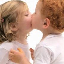 KISSをすることで…