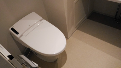 変なホテルのトイレ