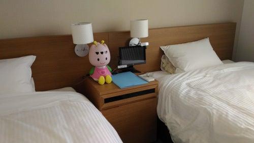 変なホテルツインベッド