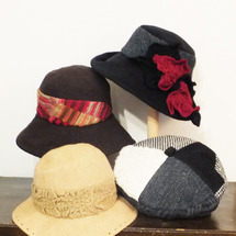 スカーフの帽子