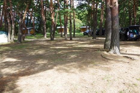 猪苗代湖畔の天神浜オートキャンプ場1