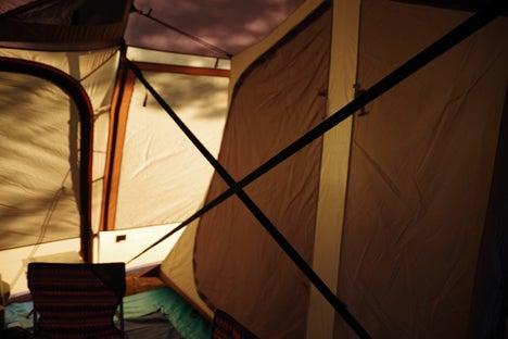 猪苗代湖畔の天神浜オートキャンプ場ペグ7