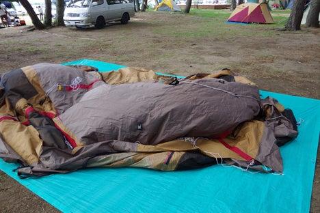 猪苗代湖畔の天神浜オートキャンプ場7