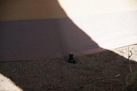 猪苗代湖畔の天神浜オートキャンプ場ペグ4