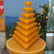 みかんジュースタワー