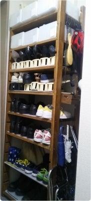 DIY 靴の棚