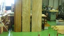 側板・後ろ板に使う木目のキレイなせん