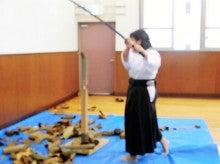女剣士の試し斬り