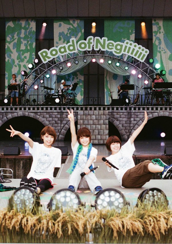 Negicco NEW LIVE DVD『Negicco at 日比谷野外大音楽堂 Road of Negiiiiii ~Negicco One Man Show~ 2015 Summer