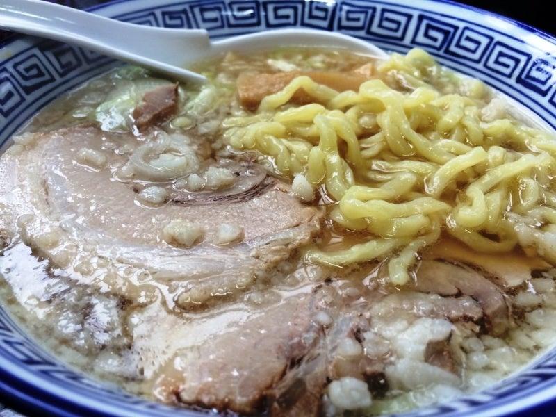 ウリナム食堂ノムノムこってり酱油ラーメン②151003