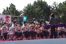中学生の演奏