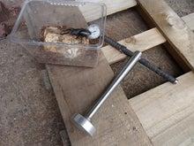 クワガタ虫の昆虫マットを固める道具を改造