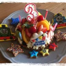 息子くん3歳の誕生日…
