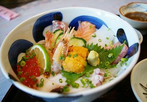 末広 海鮮丼