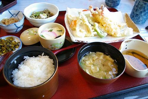 末広 天ぷら定食