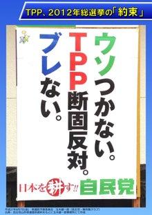 自民党TPP選挙ポスター2012