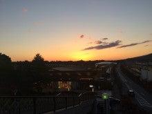 軽井沢の夕日