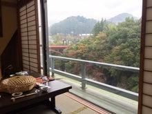 秋保温泉佐勘 部屋からの眺め