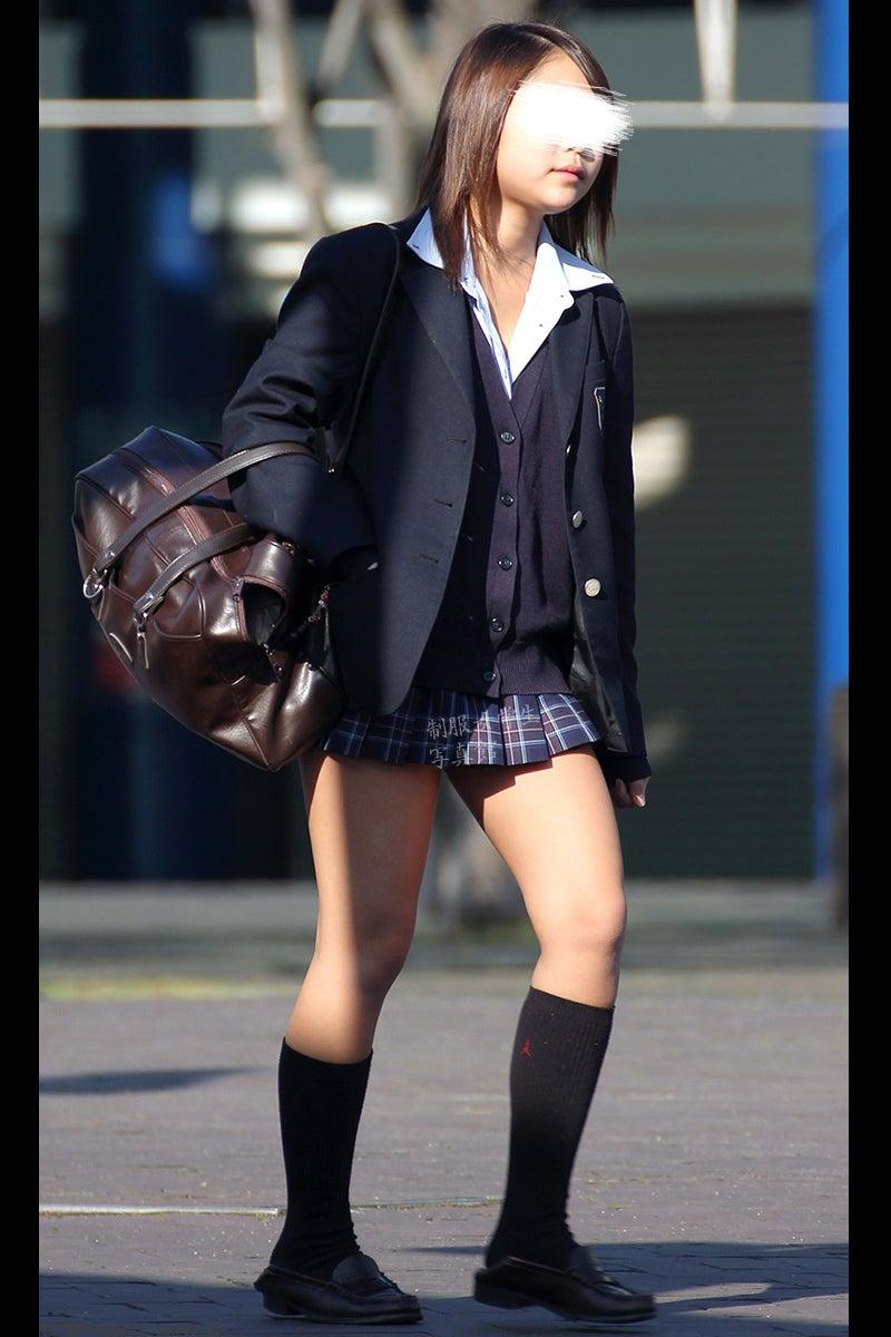 制服女学生写真館東京女学館制服