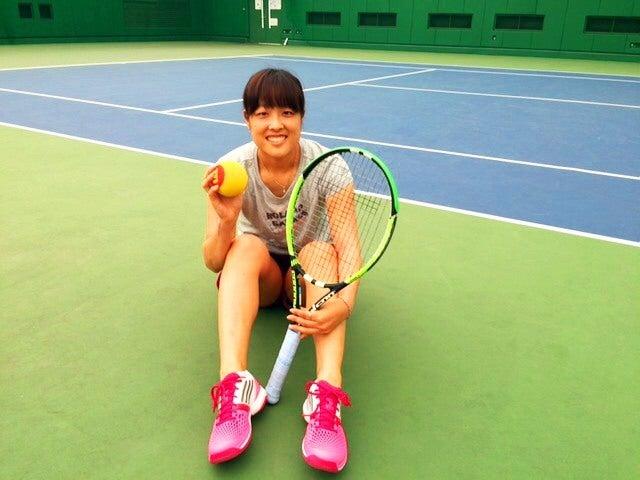 久しぶりのテニスコート写真