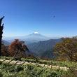 大倉→塔ノ岳→丹沢山