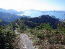 安神山までの尾根